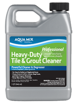 Aqua Mix Heavy Duty Tile & Grout Cleaner Gallon