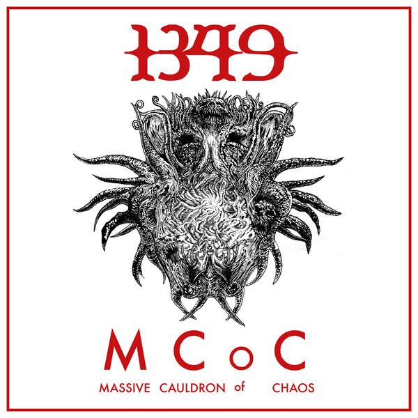 1349 - Massive Cauldron Of Chaos (BLACK/ WHITE) LP