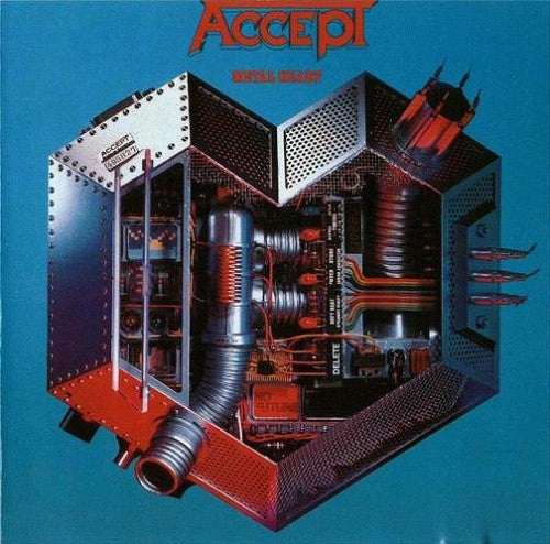 ACCEPT - Metal Heart CD