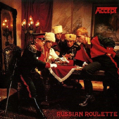 "ACCEPT - ""Russian Roulette CD"