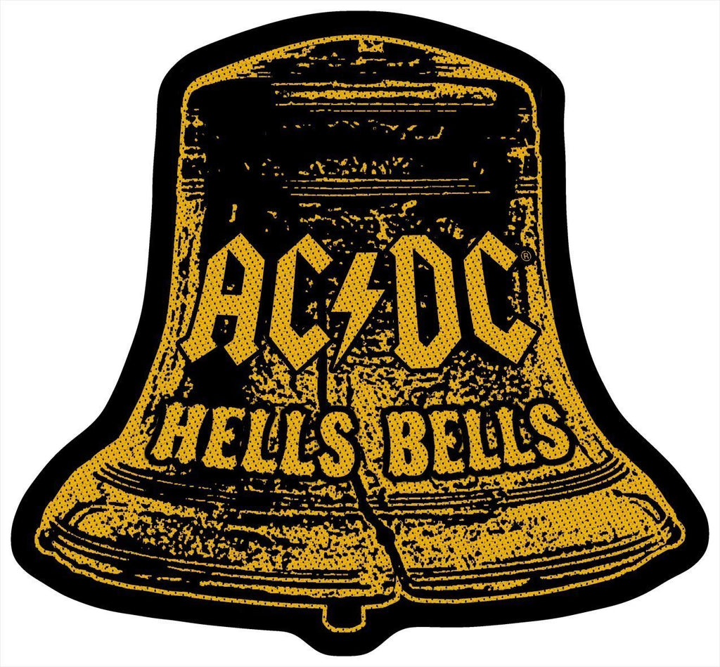 AC/DC - Hells Bells cut-out PATCH