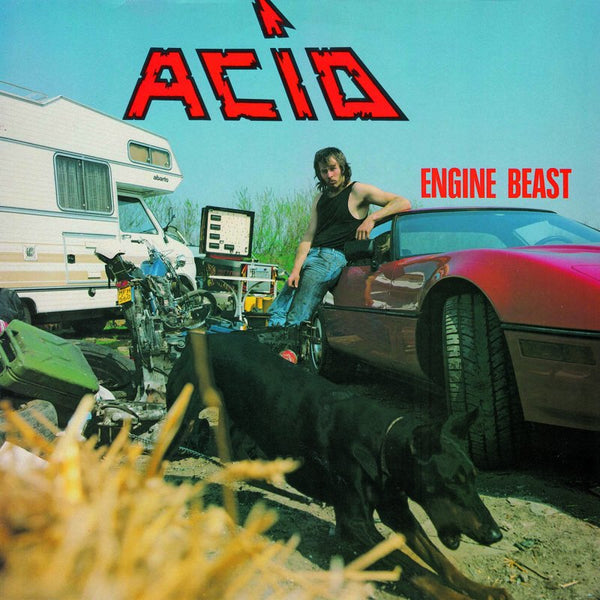 ACID - Engine Beast LP + 7'' (WHITE)