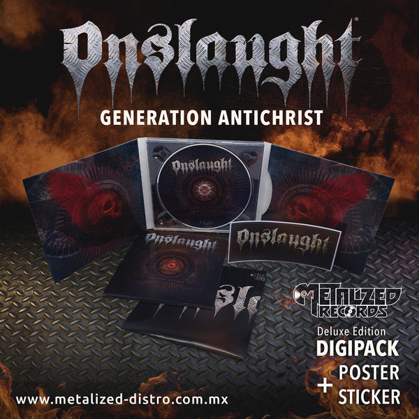 ONSLAUGHT - Generation Antichrist CD