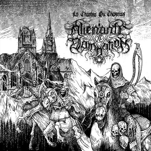 ALIENANTE DAMNATION - Le Chantre du Charnier LP