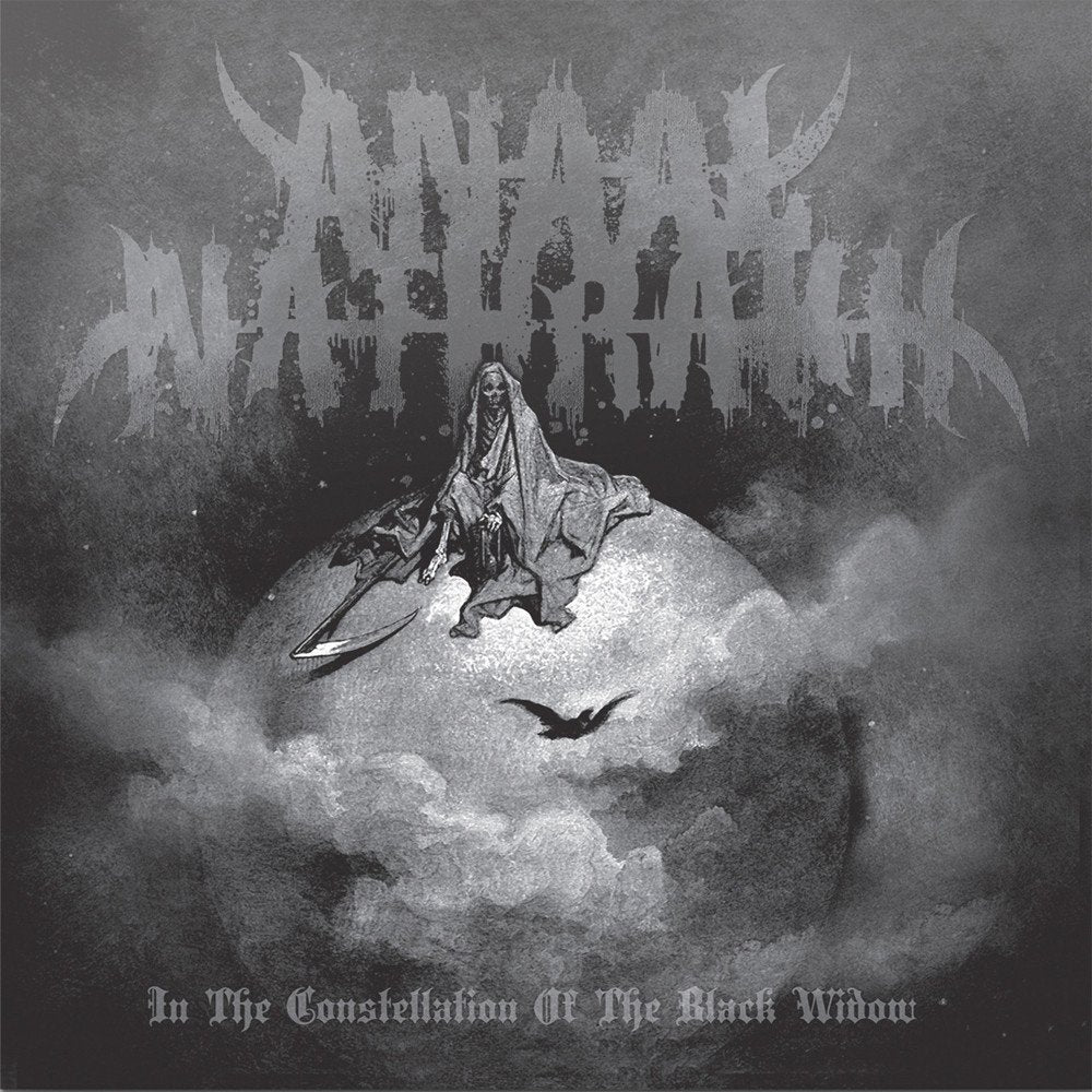 ANAAL NATHRAKH - In the constellation of the black widow LP (GREY/ GREEN) (PRE-ORDER)