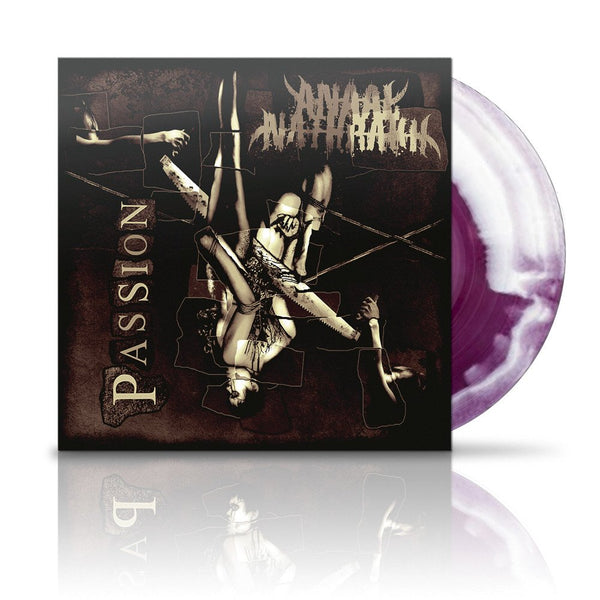 ANAAL NATHRAKH - Passion LP (RED/WHITE SWIRL)
