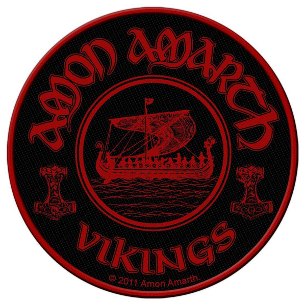 AMON AMARTH - Vikings Circular PATCH
