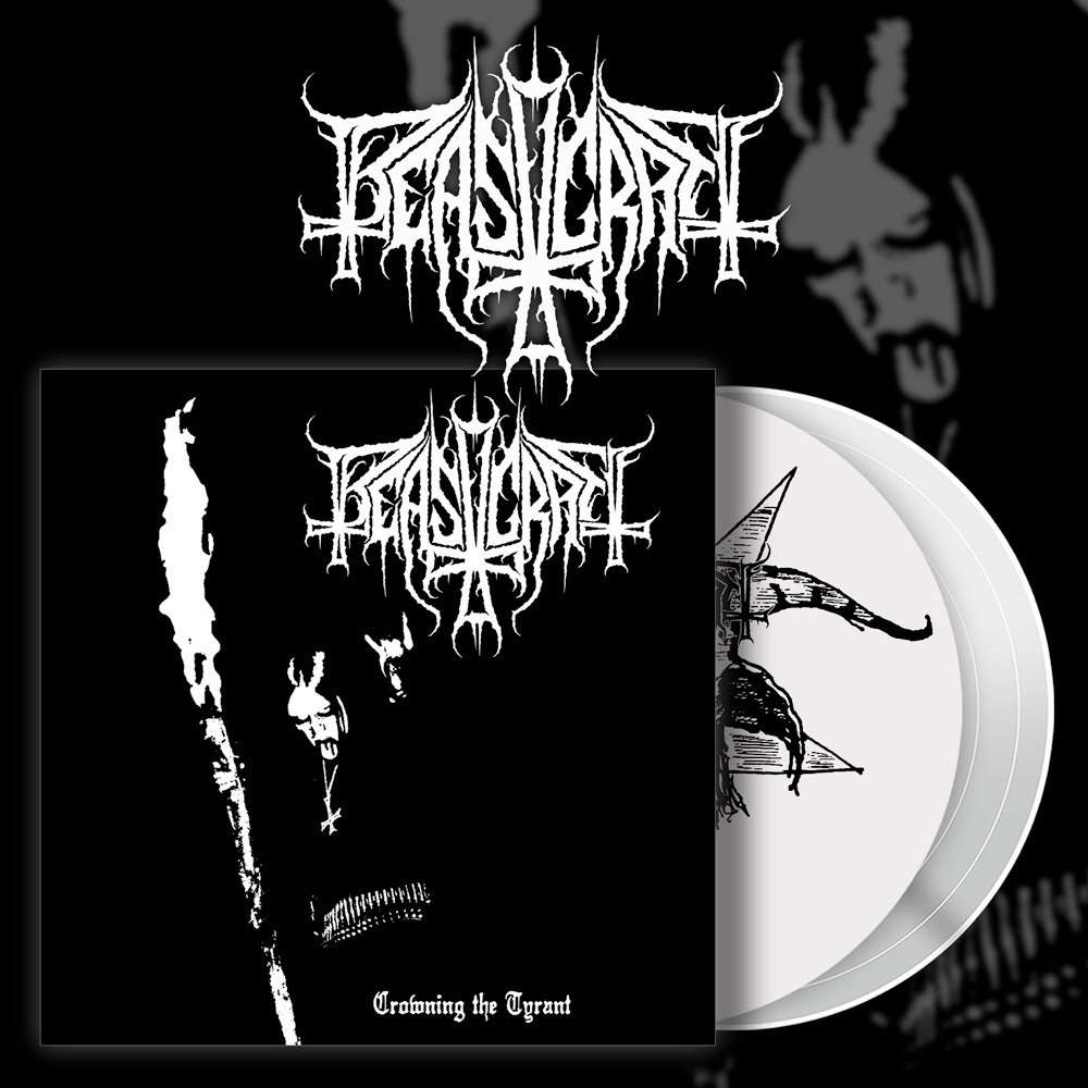 BEASTCRAFT Crowning The Tyrant LP (WHITE)