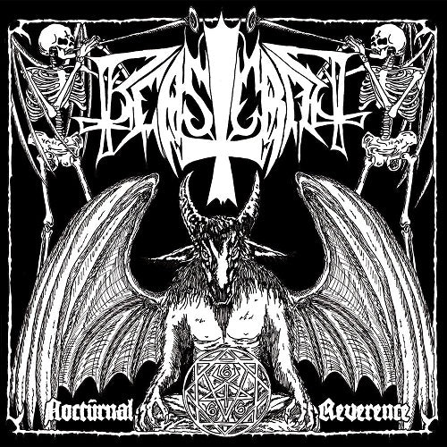 "BEASTCRAFT - Nocturnal Reverence 7"" EP (Black)"