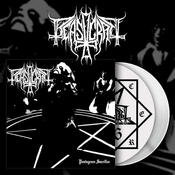 BEASTCRAFT Pentagram Sacrifice LP (WHITE)