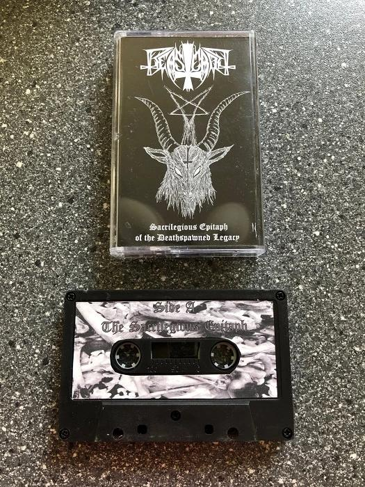 BEASTCRAFT - Sacrilegious Epitaph of the Deathspawned Legacy TAPE