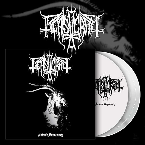 BEASTCRAFT - Satanic Supremacy LP (WHITE)