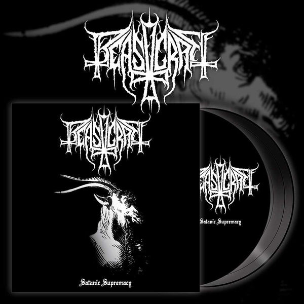 BEASTCRAFT - Satanic Supremacy LP (BLACK)