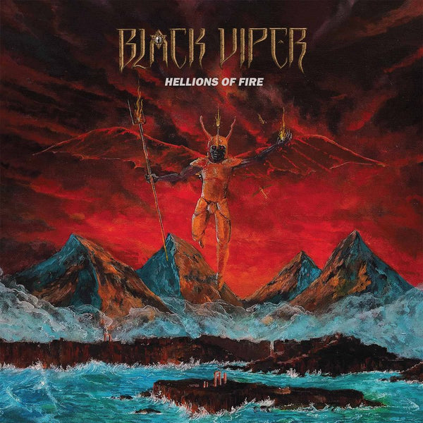 BLACK VIPER - Hellions of fire LP (ELECTRIC BLUE)