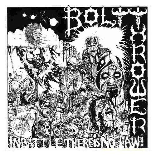 BOLT THROWER  - In battle there is no law LP