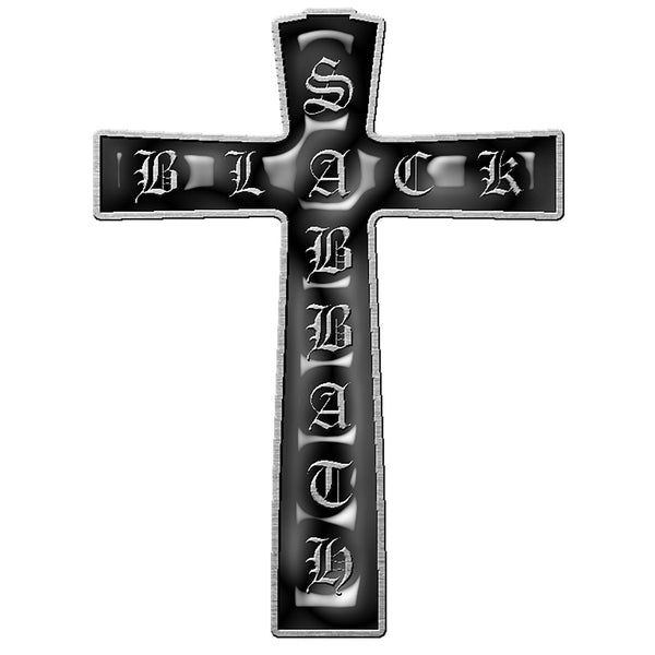 BLACK SABBATH - Cross Logo PIN