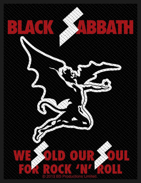 BLACK SABBATH - We Sold Our Souls PATCH