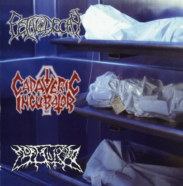 Various Artists - Cadaveric Incubator / Fetal Decay / Mortalized SPLIT CD