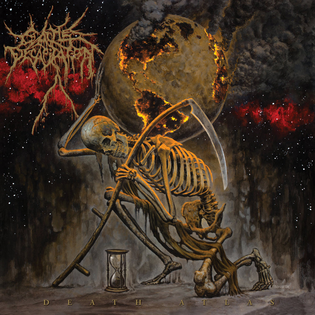 CATTLE DECAPITATION - Death Atlas CD (PRE-ORDER)