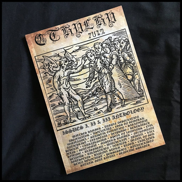 CTHULHU 'ZINE - Issues I-II Anthology BOOK *