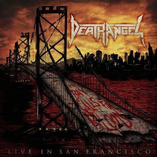 DEATH ANGEL - The bay calls for blood - Live In San Francisco LP