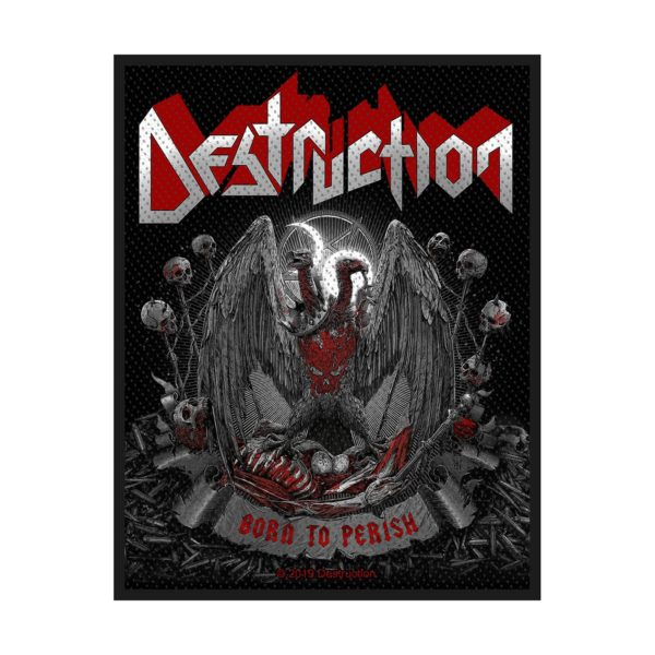 DESTRUCTION - Born To Perished PATCH