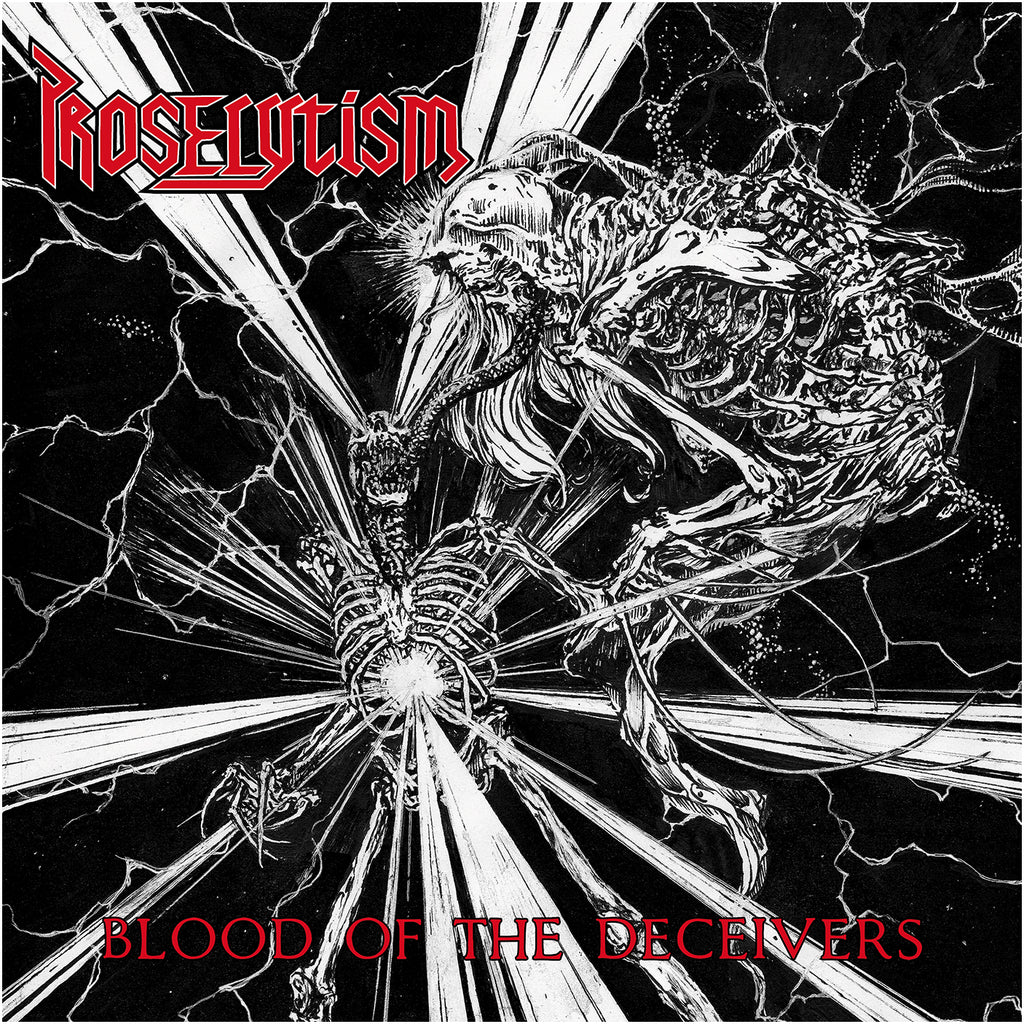 PROSELYTISM - Blood Of The Deceivers LP (RED)