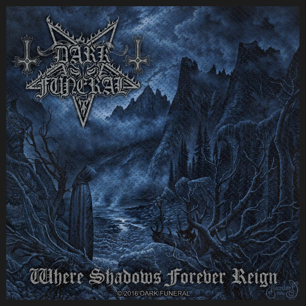 DARK FUNERAL - Where Shadows Forever Reign PATCH