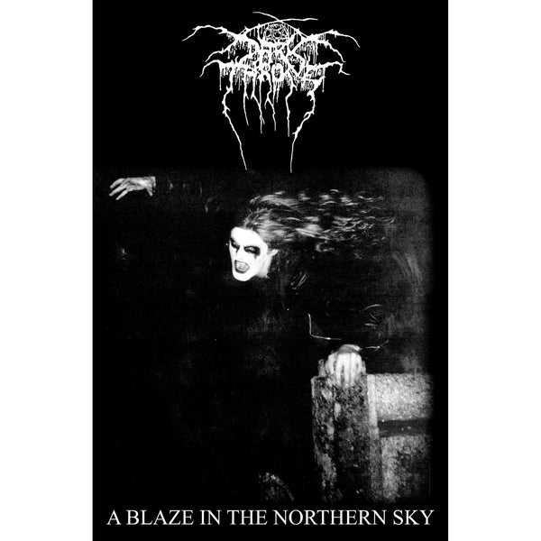 DARKTHRONE - A Blaze In The Northern Sky TEXTILE POSTER