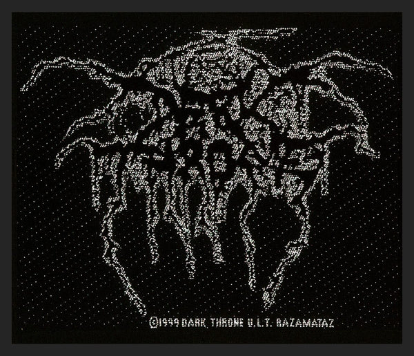 DARKTHRONE - Logo PATCH