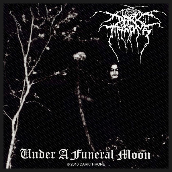 DARKTHRONE - Under A Funeral Moon PATCH