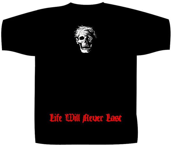 DEATH - Life will never last T-SHIRT