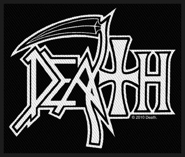 DEATH - Logo PATCH