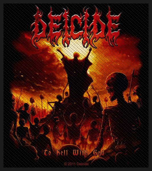 DEICIDE - To Hell With God PATCH