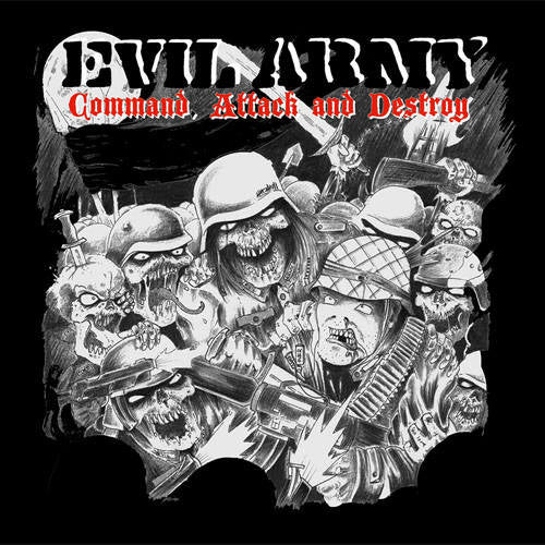 EVIL ARMY - Command, attack & destroy CD