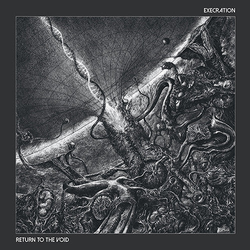 EXECRATION - Return to the void LP (BLACK)