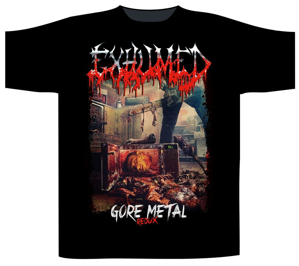 EXHUMED - Gore Metal Redux T-SHIRT