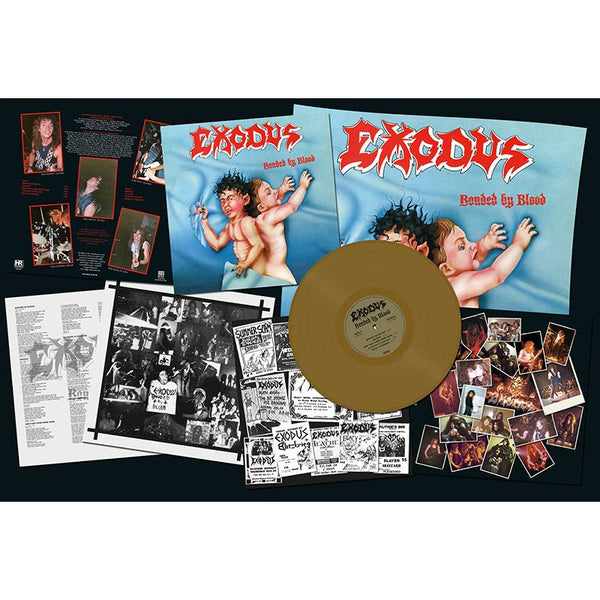 EXODUS - Bonded by Blood LP (GOLD)