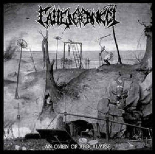 FALLEN ANGEL - An Omen Of Apocalypse/ Embraced by shadows LP