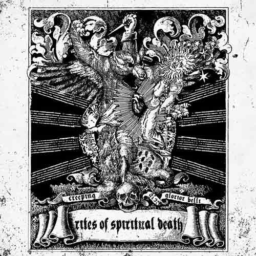 GLORIOR BELLI/ CREEPING - Rites of Spiritual Death SPLIT LP