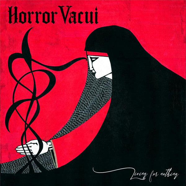 HORROR VACUI - Living for nothing LP