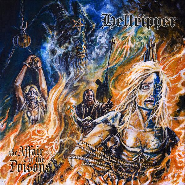HELLRIPPER - The Affair of the Poisons LP