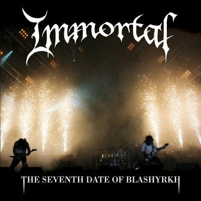 IMMORTAL - The seventh date of Blashyrkh 2LP