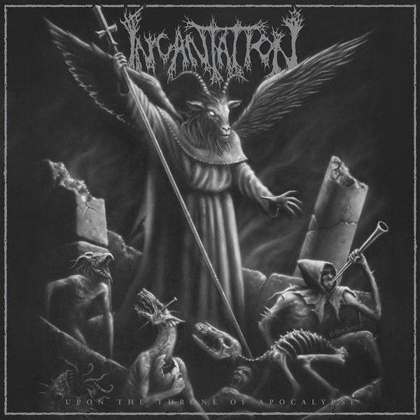 INCANTATION - Upon The Throne Of The Apocalypse LP