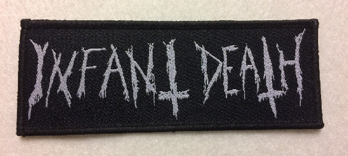 INFANT DEATH - logo PATCH