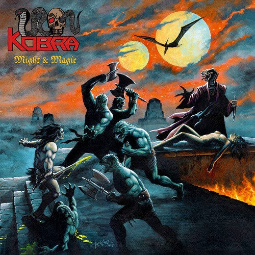 IRON KOBRA - Might & Magic CD