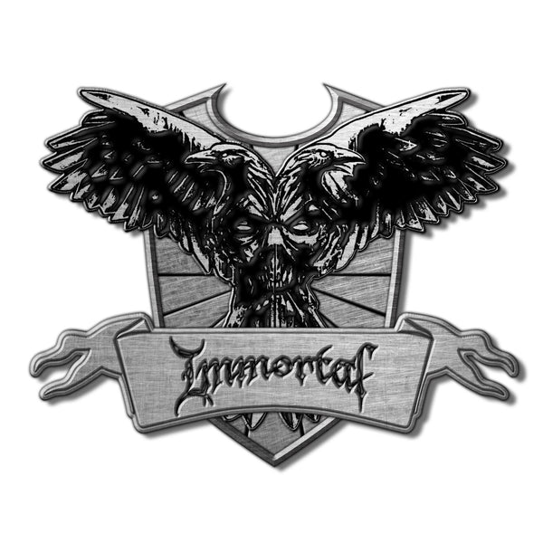 IMMORTAL - Crest PIN