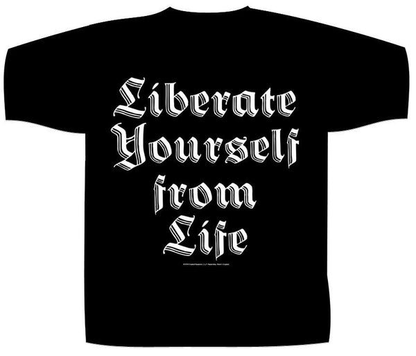 IMPALED NAZARENE - Liberate Yourself From Life T-SHIRT