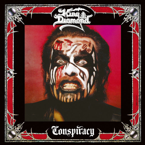 KING DIAMOND - Conspiracy LP (CHERRY RED)