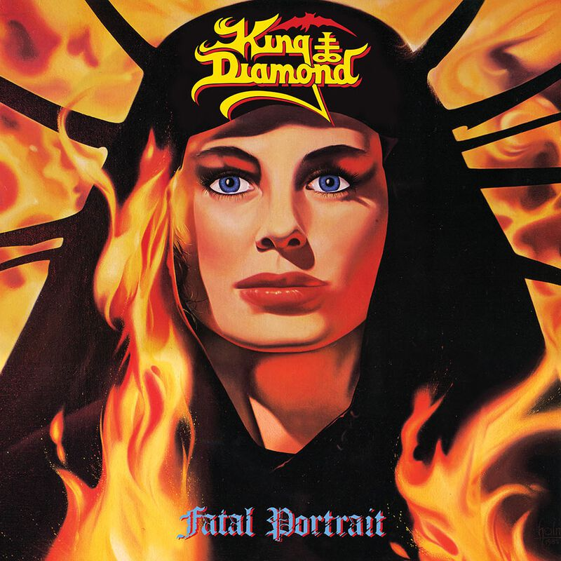 KING DIAMOND - Fatal Portrait LP (YELLOW MARBLED)